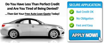 Bad Credit Auto Financing