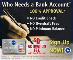 Checking Accounts For People With Bad Credit