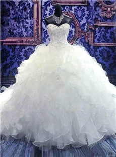 Image Is A Picture Of Wedding Gown On Mannequin You Can With
