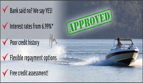 how to get a boat loan with bad credit